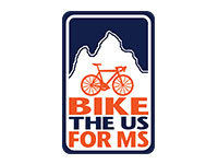 Bike the U.S. for MS Logo