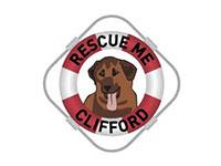 Rescue Me Clifford Logo