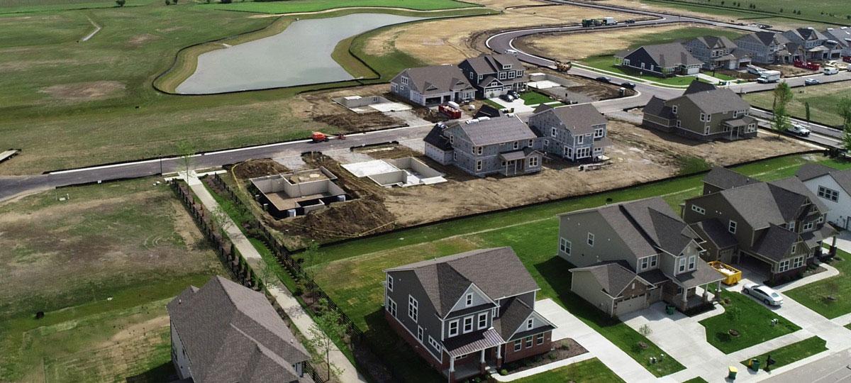 Liberty Ridge Aerial Image
