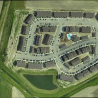 Aerial image of Casey Acres by Weihe Engineer UAV