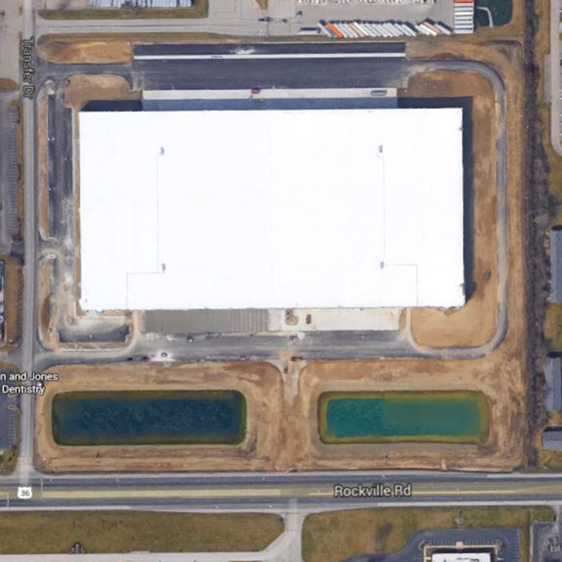 7600 Industrial Building Aerial Location