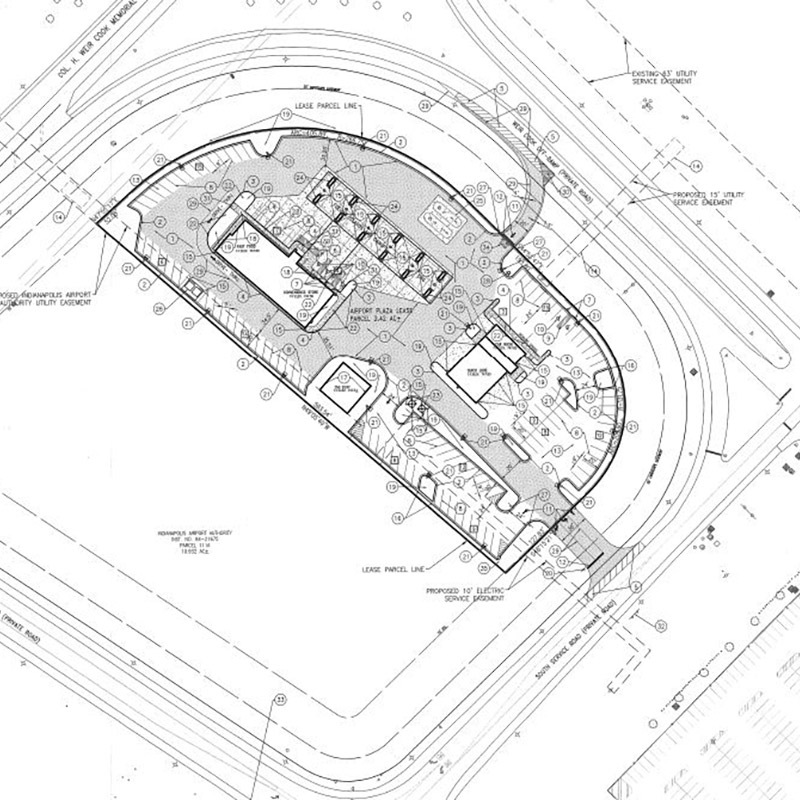 Airport Plazas Site Plan