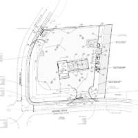 Blu Natural Gas Station Site Plan