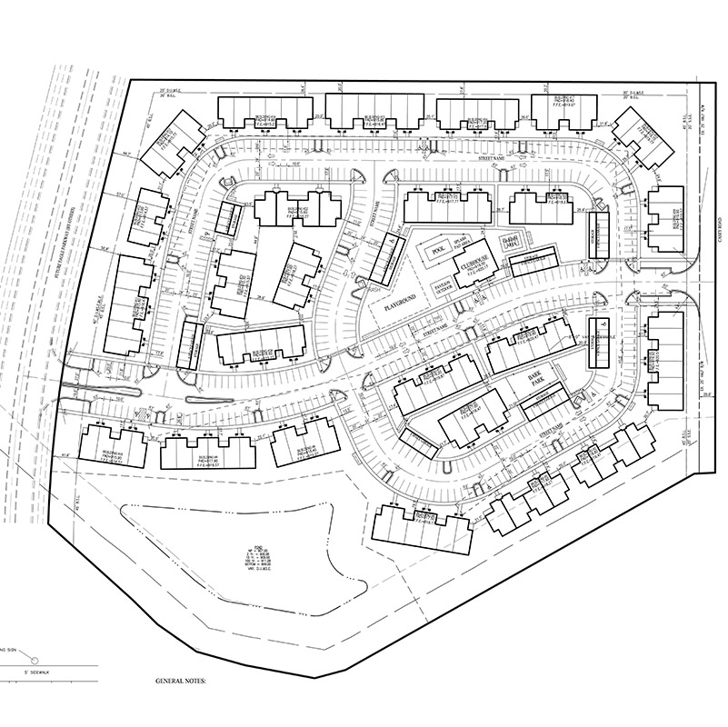 Casey Acres Site Plan
