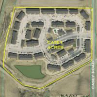Casey Acres Aerial Location