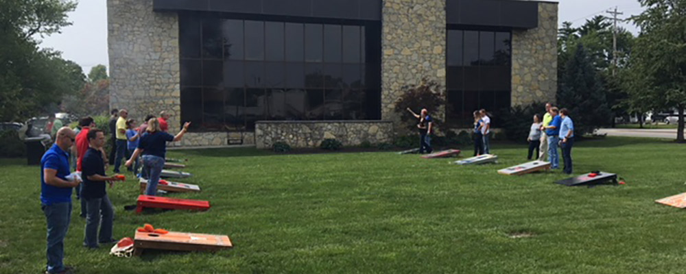 Employee Fun Friday - Cornhole