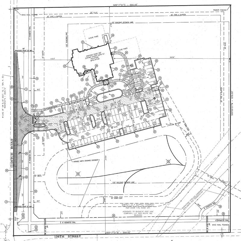 Epiphany Church Site Plan