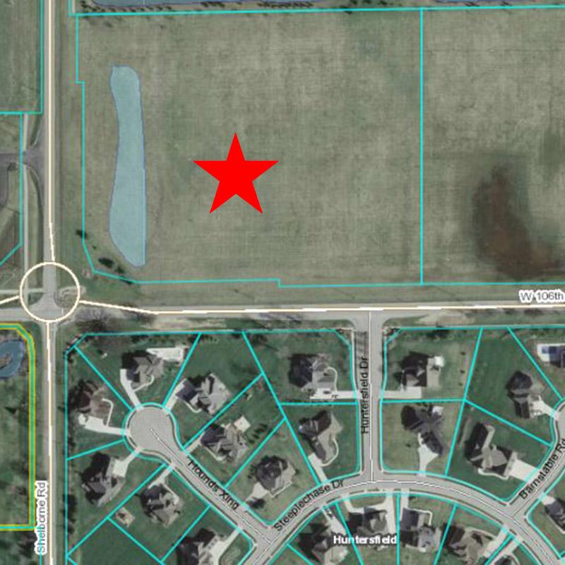 Holy Trinity Church Aerial Location Pre-Construction