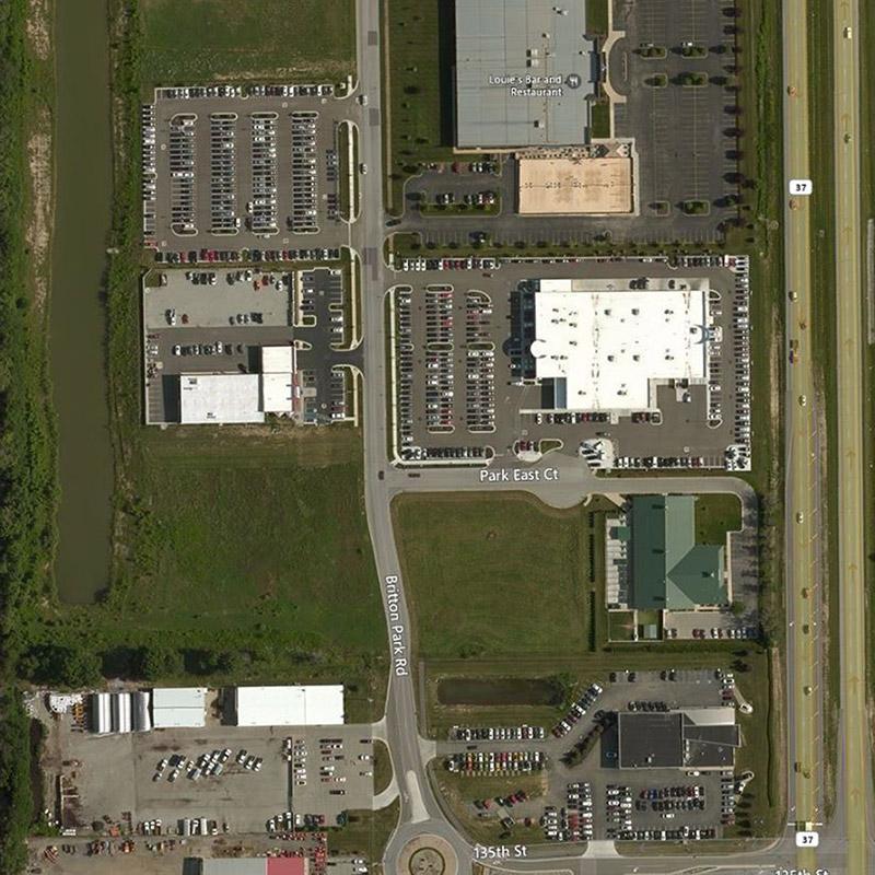 Honda of Fishers Aerial Location