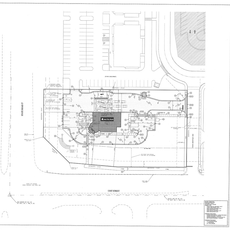 Lake City Bank Site Plan