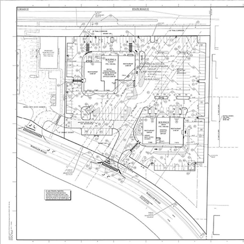 Monon Marketplace Site Plan