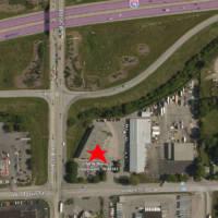 Speedway at I70 & Holt Aerial Location