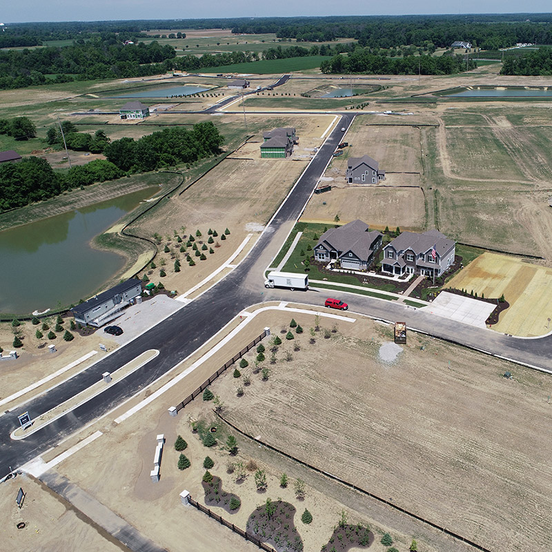 Scofield Farms aerial image