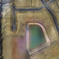 Scofield Farms UAV image overlay