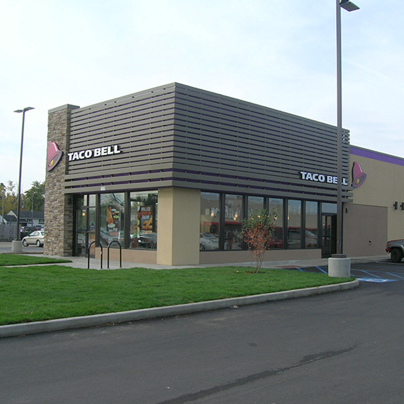 Lafayette Taco Bell close-up