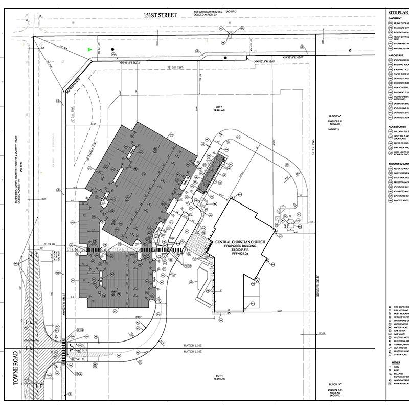 Thrive Church Site Plan