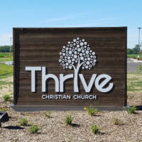 Thrive Church Entrance Sign