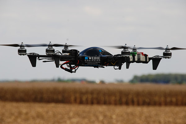 Weihe Engineers UAV Flying