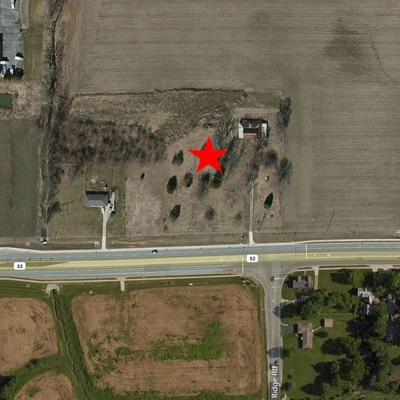 Westfield Speedway Aerial Location Pre-Construction