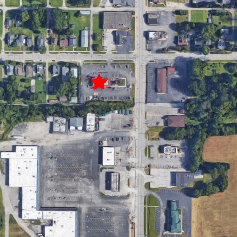 Mooresville McDonald's Aerial Site Location