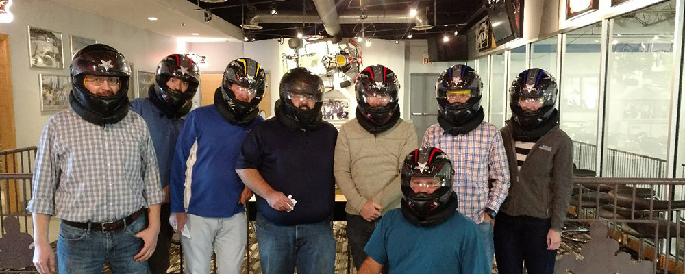 Weihe Employees Go-Kart Racing