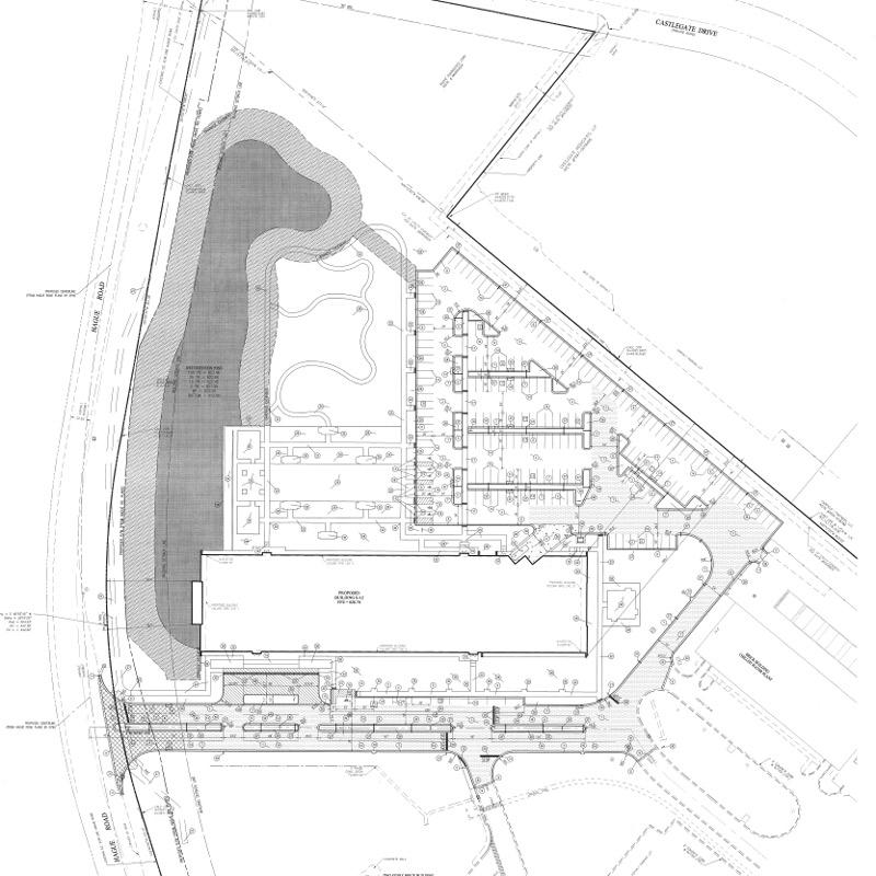 Roche Site Plan