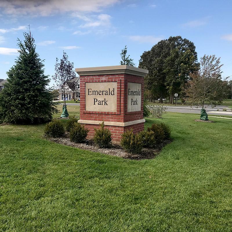 Emerald Park Monument